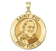 Saint Pio of Pietrelcina Religious Medal