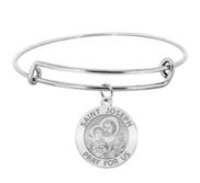 Saint Joseph Expandable Bracelet