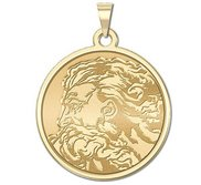 GOD Religious Round Medal  EXCLUSIVE