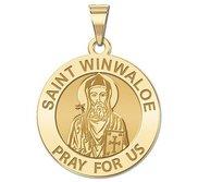 Saint Winwaloe Religious Medal  EXCLUSIVE