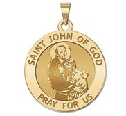 Saint John of GOD Religious Medal  EXCLUSIVE
