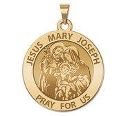 Jesus Mary Joseph Religious Medal  EXCLUSIVE
