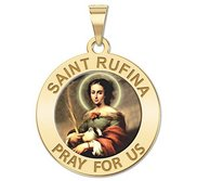 Saint Rufina Religious Color Medal  EXCLUSIVE