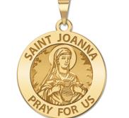 Saint Joanna Religious Medal  EXCLUSIVE