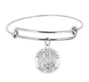 Saint Nicholas Expandable Bracelet