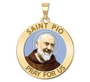 Saint Pio of Pietrelcina Religious Medal  EXCLUSIVE