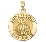 Saint Terence Religious Medal  EXCLUSIVE