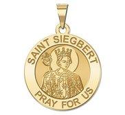 Saint Siegbert Religious Medal  EXCLUSIVE
