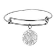 Our Lady of Mount Carmel Expandable Bracelet
