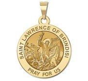 Saint Lawrence of Brindisi  Leading the Soldiers in Battle  Religious Medal   EXCLUSIVE