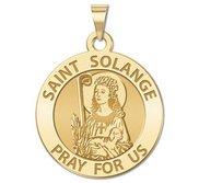 Saint Solange Religious Medal    EXCLUSIVE