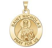 Saint Nicholas Religious Medal  EXCLUSIVE