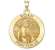 Noah Round Religious Medal  EXCLUSIVE