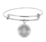 Saint Christopher Expandable Bracelet