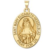 Saint Mary Elizabeth Hesselblad Religious Medal  OVAL EXCLUSIVE