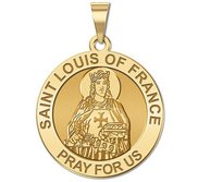 Saint Louis of France Religious Medal  EXCLUSIVE