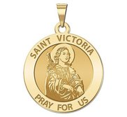 Saint Victoria Religious Medal   EXCLUSIVE