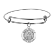 Saint Monica Expandable Bracelet