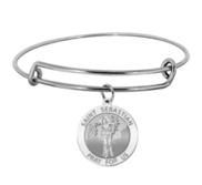 Saint Sebastian Expandable Bracelet