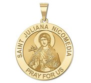 Saint Juliana Nicomedia Religious Medal   EXCLUSIVE