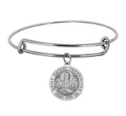 Saint Kateri Tekakwitha Expandable Bracelet