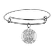 Saint Blaise Expandable Bracelet