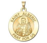 Saint Alberic Crescitelli Round Religious Medal  EXCLUSIVE