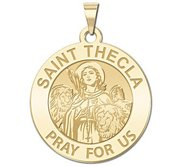 Saint Thecla Religious Medal  EXCLUSIVE