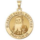 Blessed Daniel Brottier Round Religious Medal  EXCLUSIVE