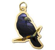 Bird   Crow Charm