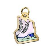 Figure Skates Charm
