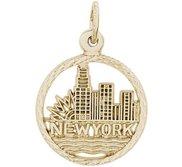 NEW YORK SKYLINE ENGRAVABLE