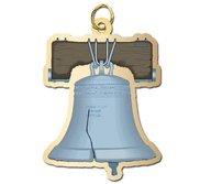 Liberty Bell Charm