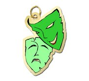 Theatre Masks Charm
