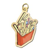 French Fries Charm