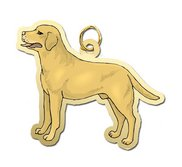 Dog    Yellow Labrador Retriever Charm