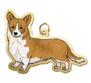 Dog   Welsch Corgi Charm