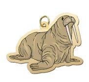 Walrus Charm