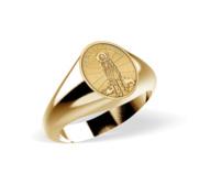 Saint Lazarus Signet Ring