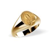 Saint Kateri Tekakwitha Signet Ring  EXCLUSIVE
