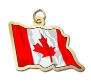 Canada Flag Charm