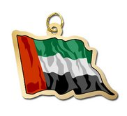 United Arab Emirates Flag Charm