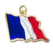France Flag Charm