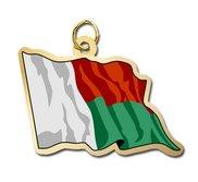 Madagascar Flag Charm