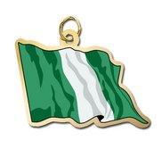 Nigeria Flag Charm