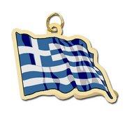 Greece Flag Charm
