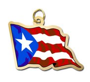 Puerto Rico Flag Charm
