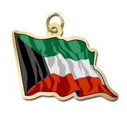 Kuwait Flag Charm