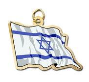 Israel Flag Charm