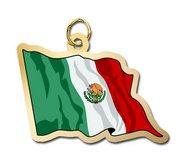 Mexico Flag Charm